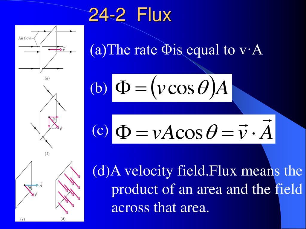 24-2  Flux