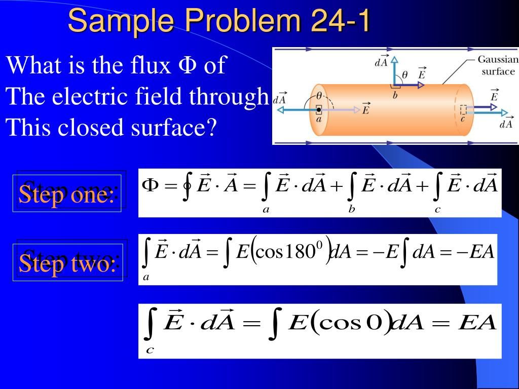 Sample Problem 24-1
