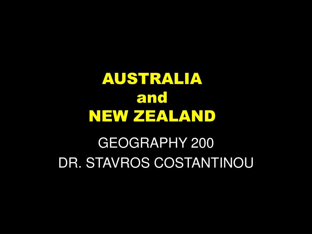 australia and new zealand l.