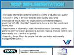 wsp implementation benefits