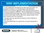 wsp implementation benefits32