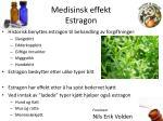medisinsk effekt estragon1