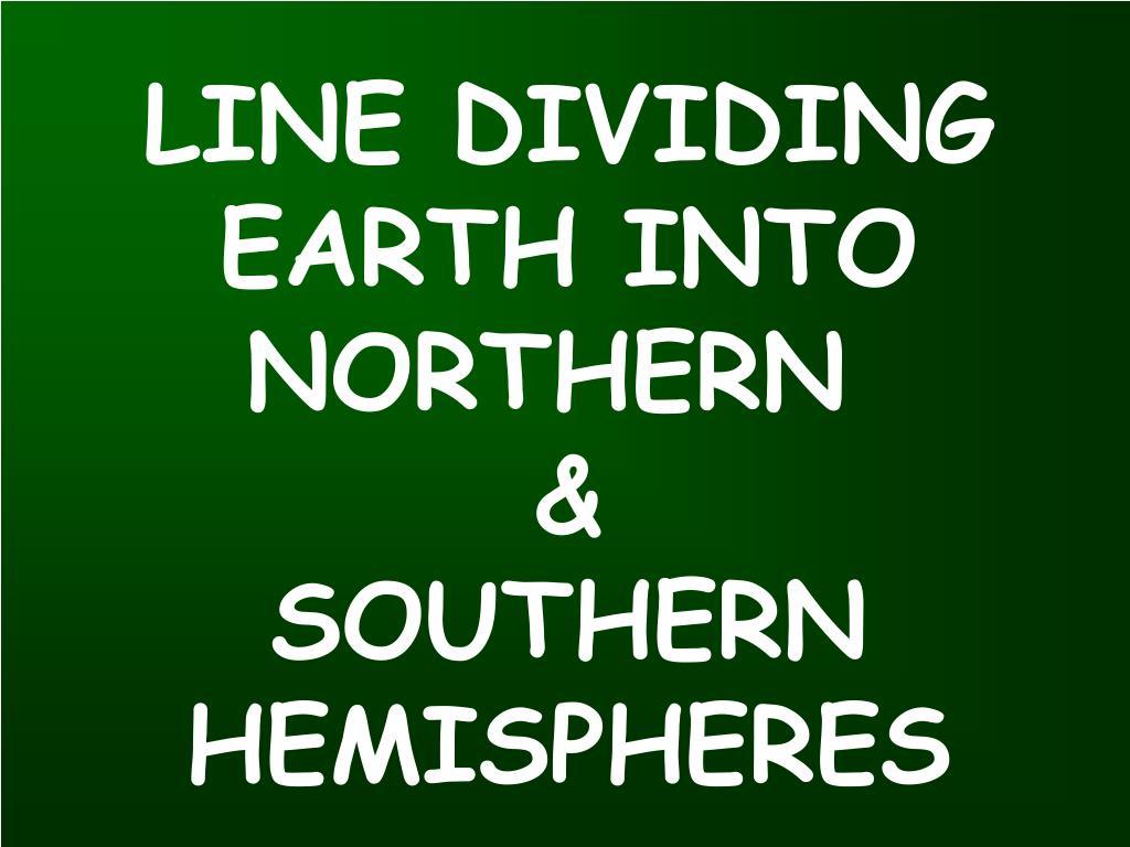 LINE DIVIDING
