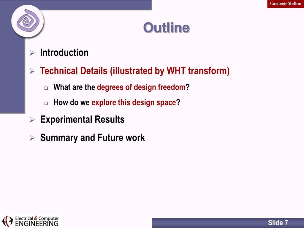 PPT - Generation of Custom DSP Transform IP Cores: Case ...