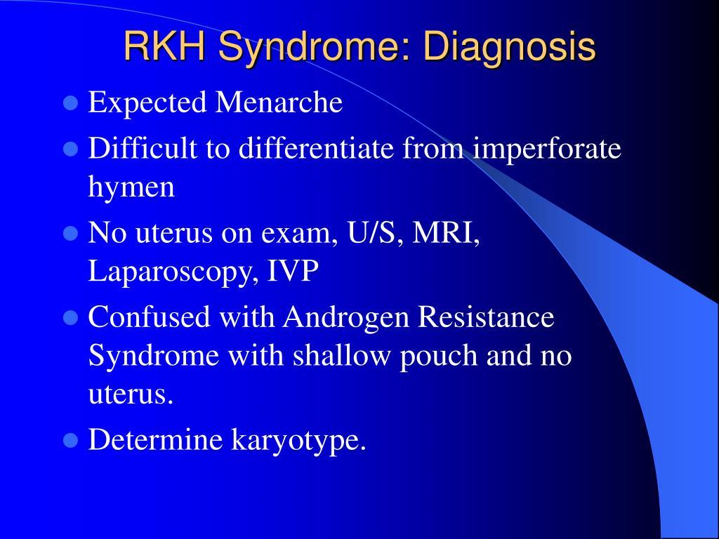 RKH Syndrome: Diagnosis