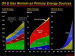 oil gas remain as primary energy sources