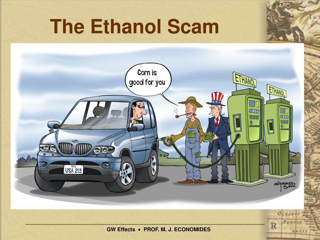 The Ethanol Scam