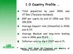 1 0 country profile