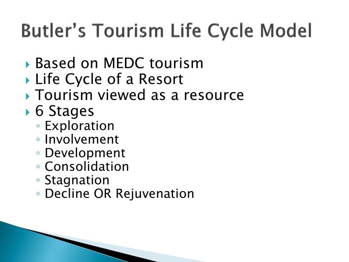 Butler s tourism life cycle model2