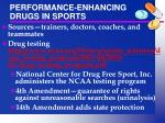 performance enhancing drugs in sports1