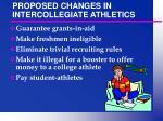 proposed changes in intercollegiate athletics3