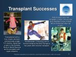 transplant successes