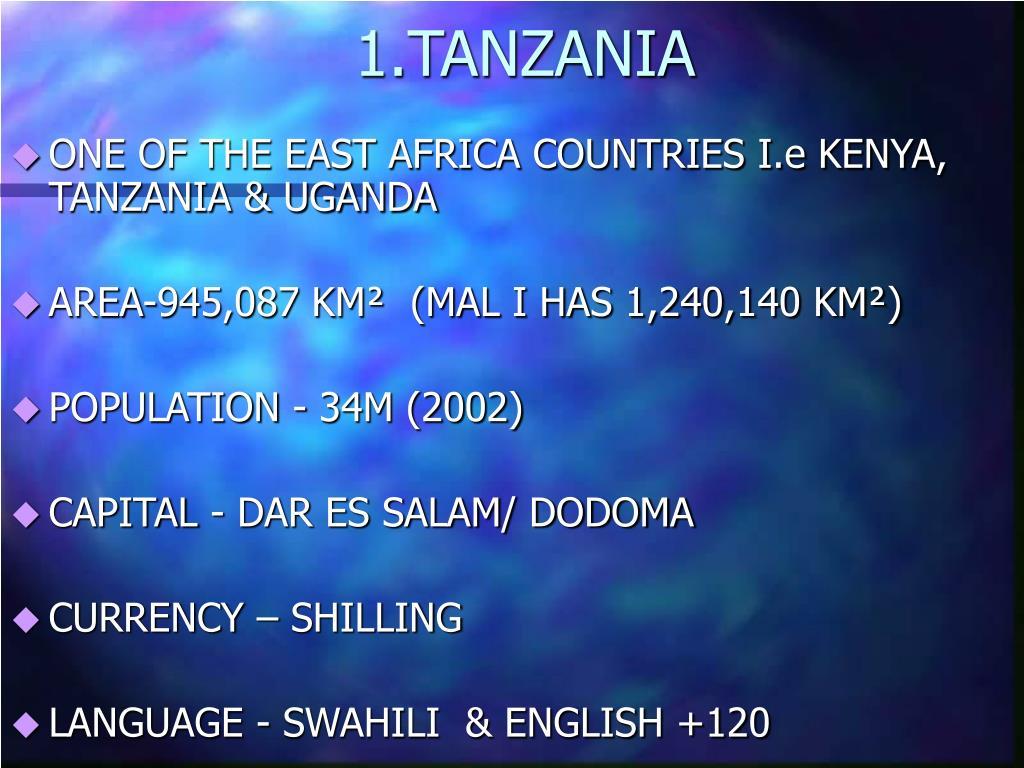 1.TANZANIA