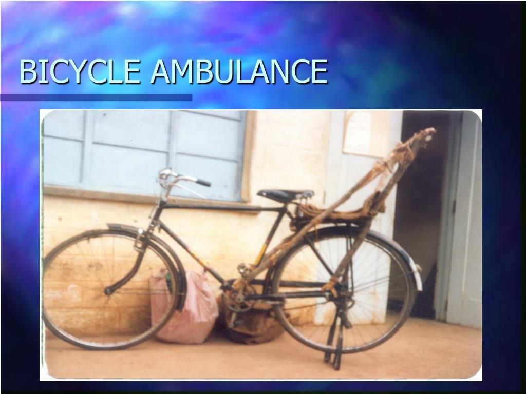 BICYCLE AMBULANCE