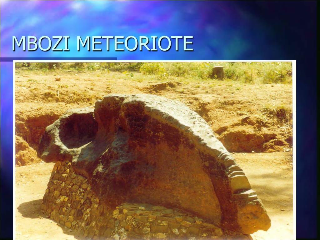 MBOZI METEORIOTE