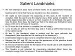 salient landmarks