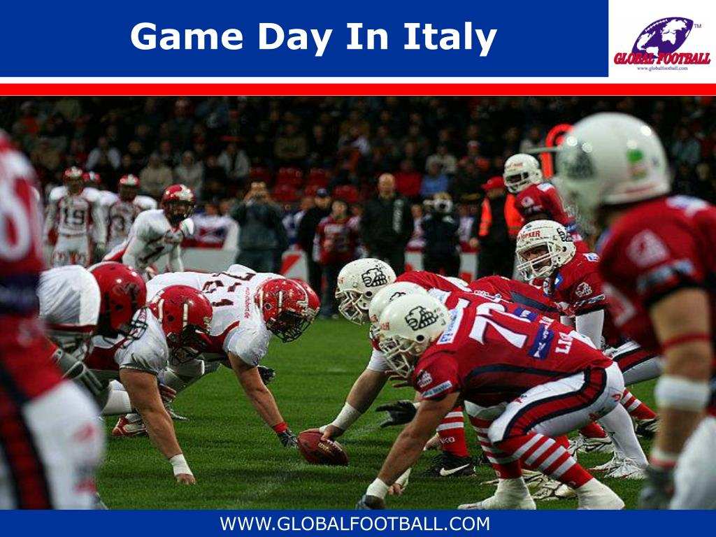 Game Day In Italy
