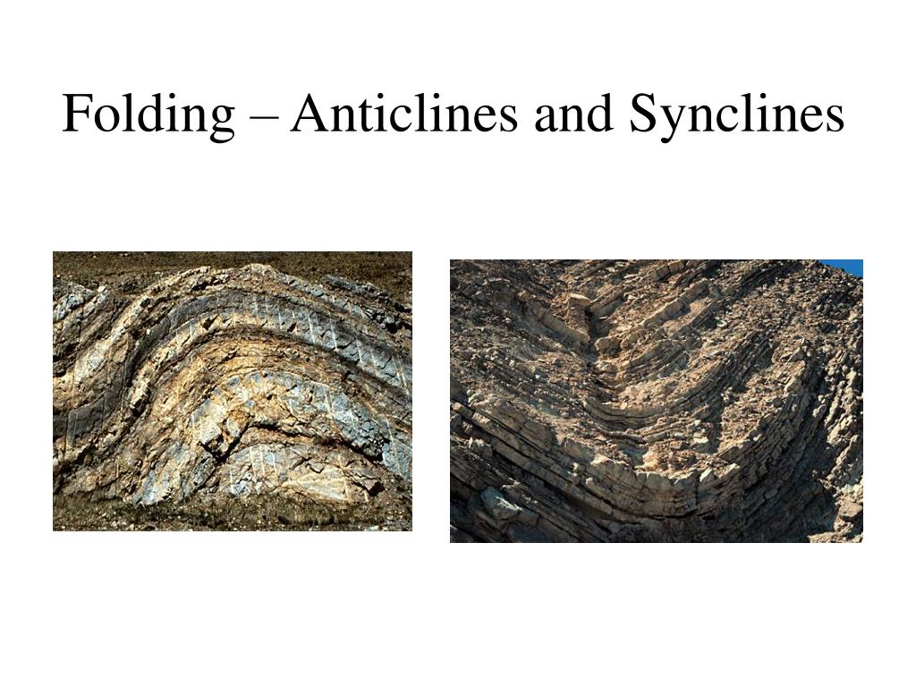 Folding – Anticlines and Synclines