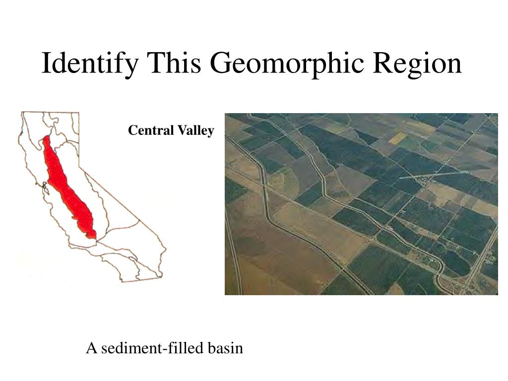 Identify This Geomorphic Region