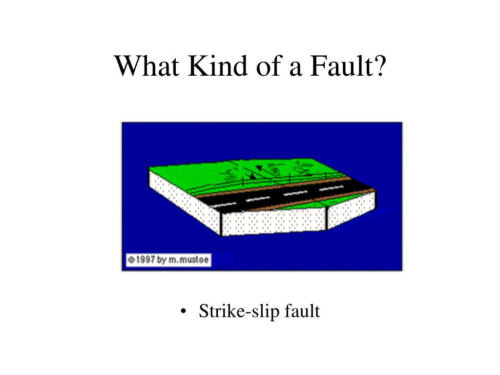 What Kind of a Fault?