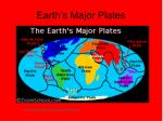 earth s major plates