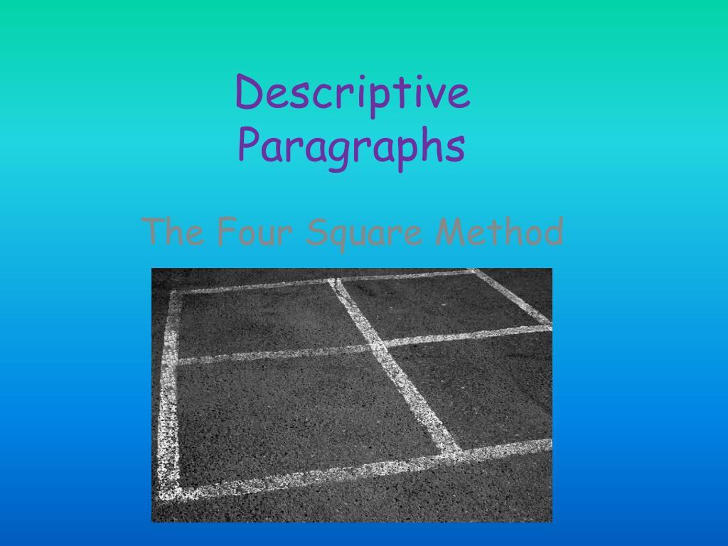 descriptive paragraphs l.