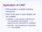 application of can