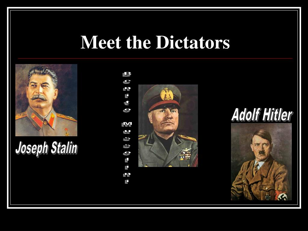 a comparison of the governments of adolf hitler and benito mussolini What are the similarities between adolf hitler and  thewestern allies contribution was pathetic in comparison,  benito mussolini never shared hitler's obsession.