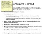 consumers brand