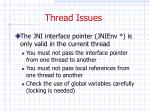 thread issues