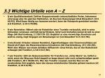 3 3 wichtige urteile von a z64