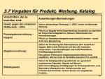 3 7 vorgaben f r produkt werbung katalog