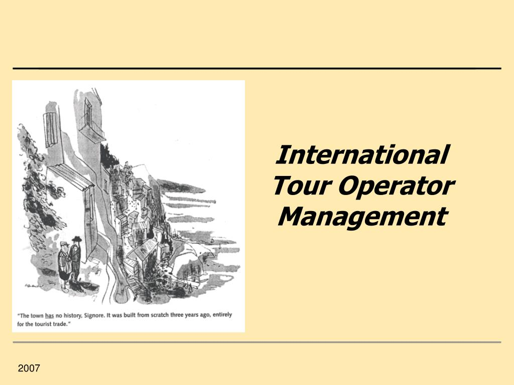 international tour operator management l.