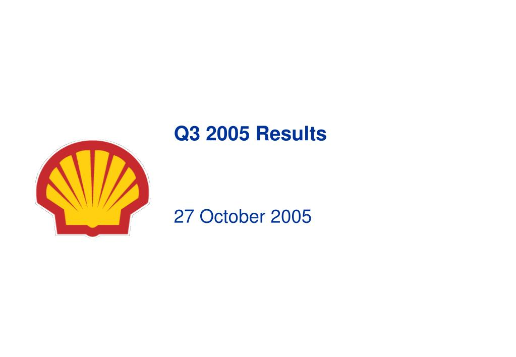 q3 2005 results