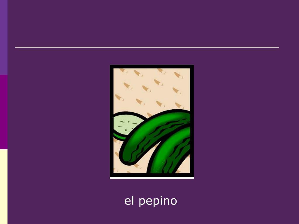 el pepino