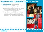 additional interacti ve actions