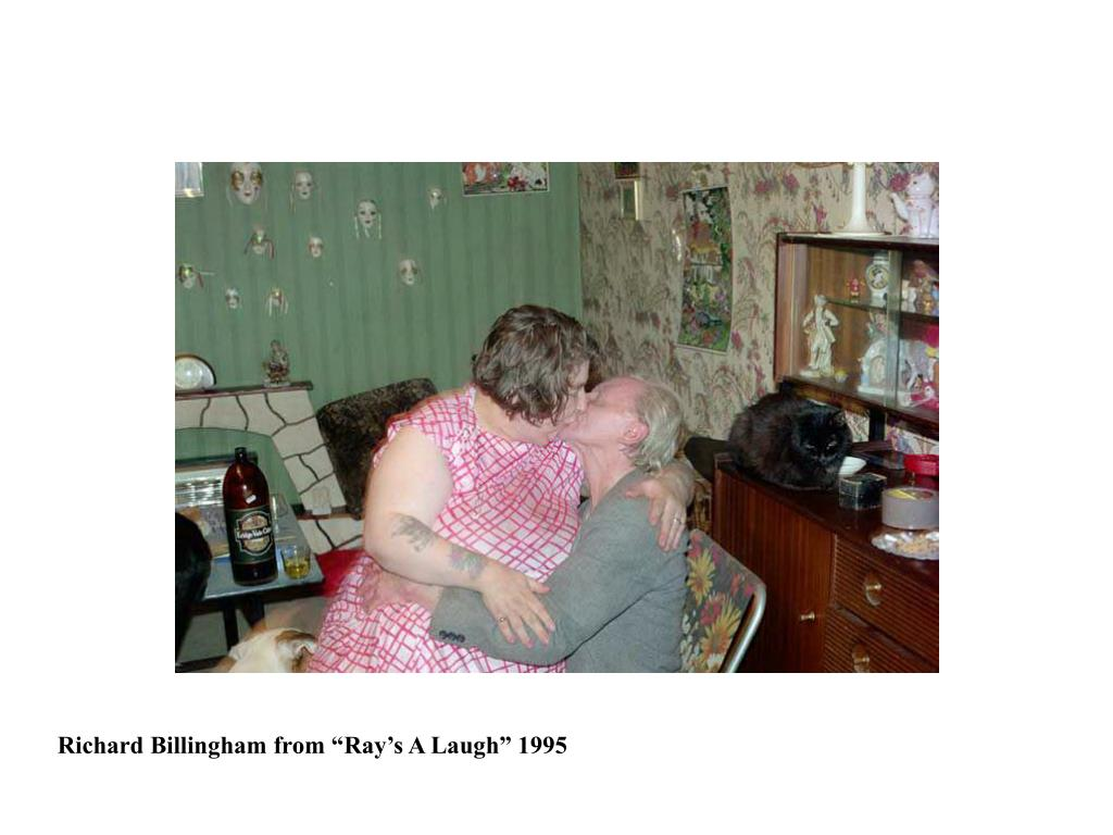 """Richard Billingham from """"Ray's A Laugh"""" 1995"""