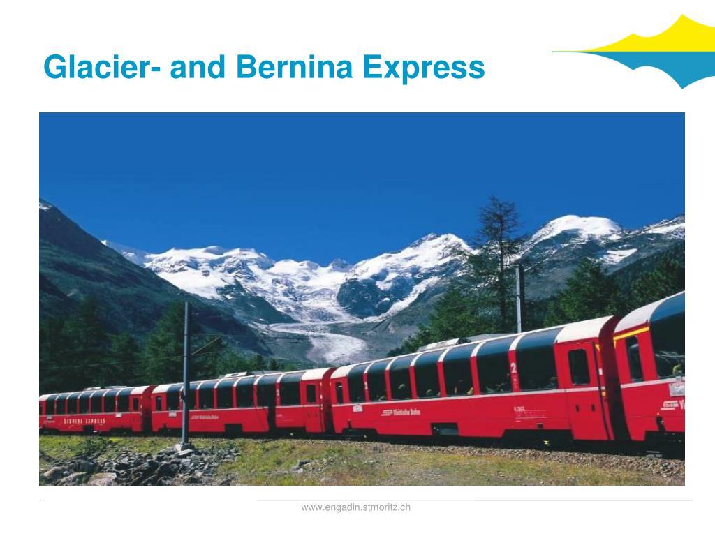 Glacier- and Bernina Express