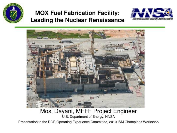 mox project A federal judge has blocked the proposed shutdown of a plant in south carolina which would turn plutonium used in nuclear weapons into fuel for nuclear reactors.