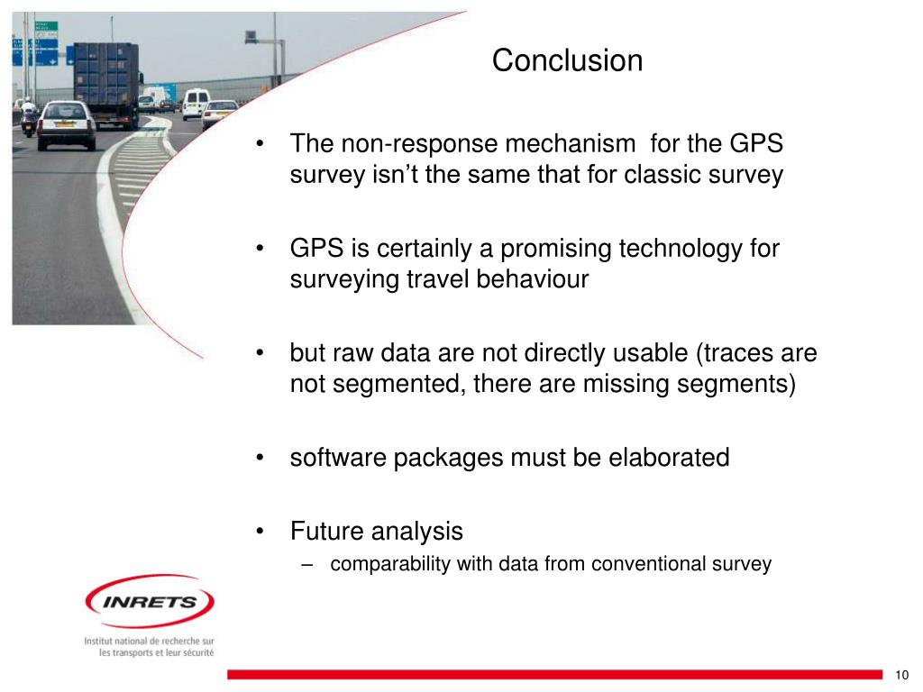 The non-response mechanism  for the GPS survey isn't the same that for