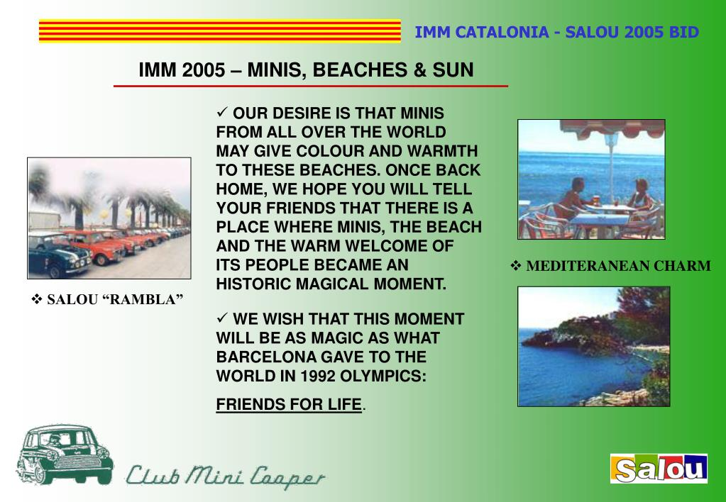 IMM 2005 – MINIS, BEACHES & SUN