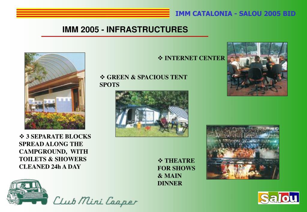 IMM 2005 - INFRASTRUCTURES