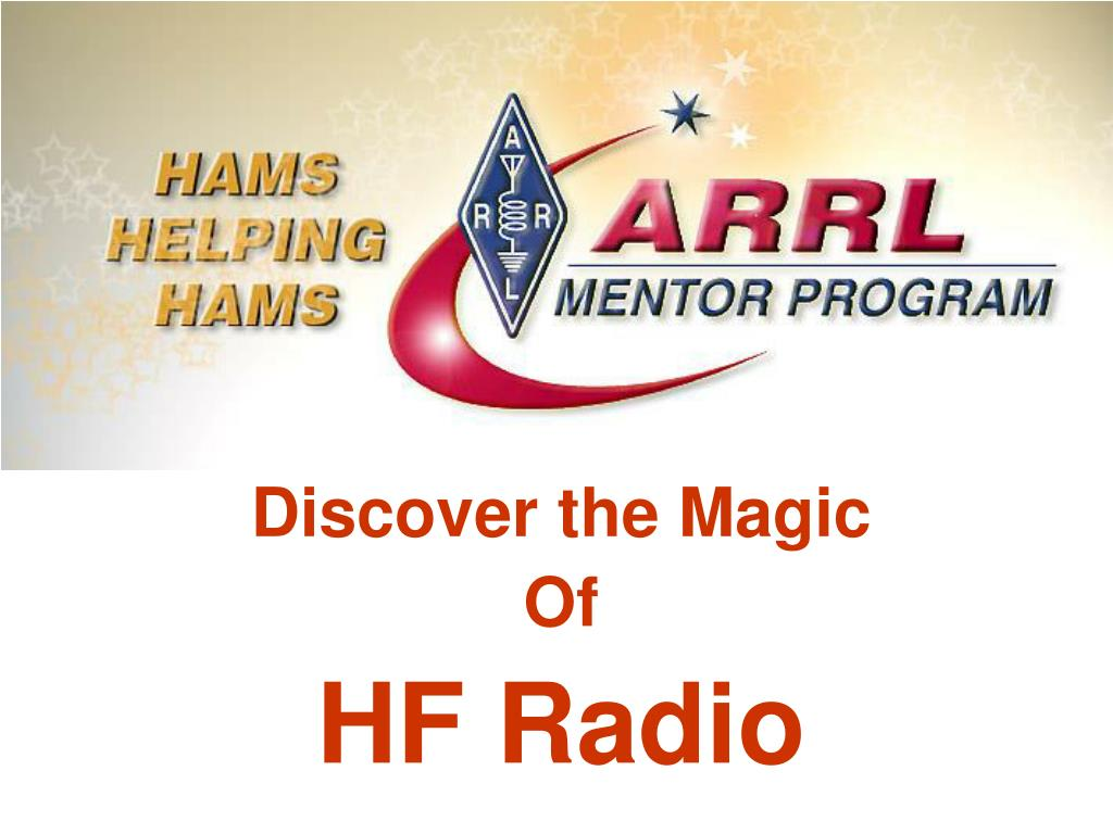 discover the magic of hf radio l.