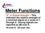 meter functions