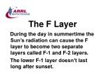 the f layer48