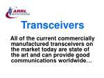 transceivers74