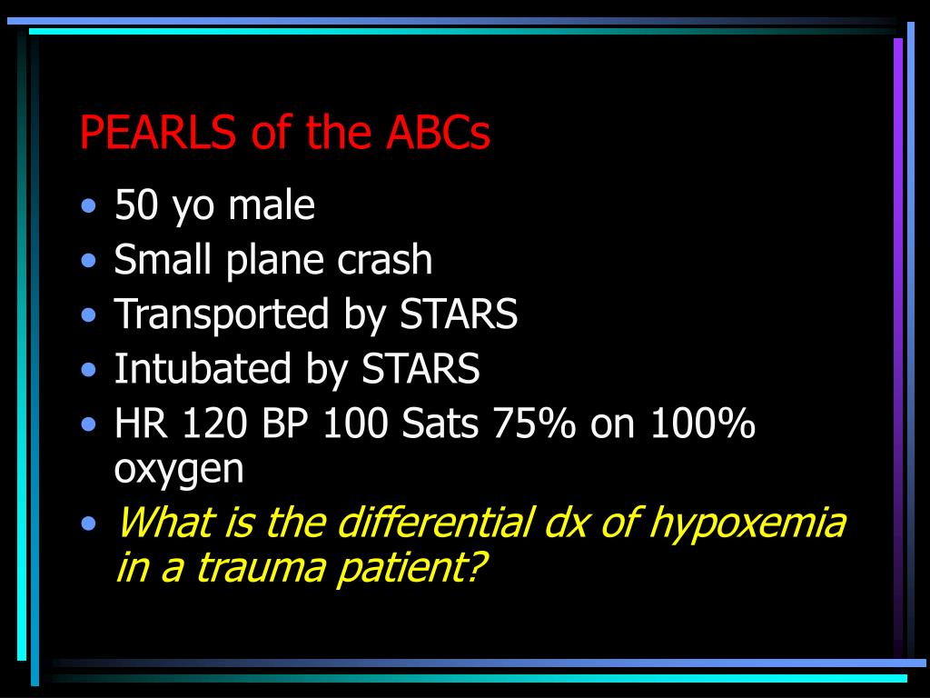 PEARLS of the ABCs