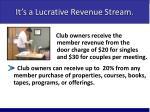 it s a lucrative revenue stream