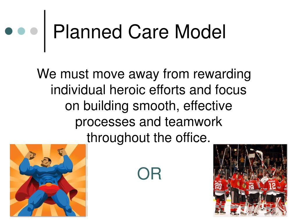 Planned Care Model