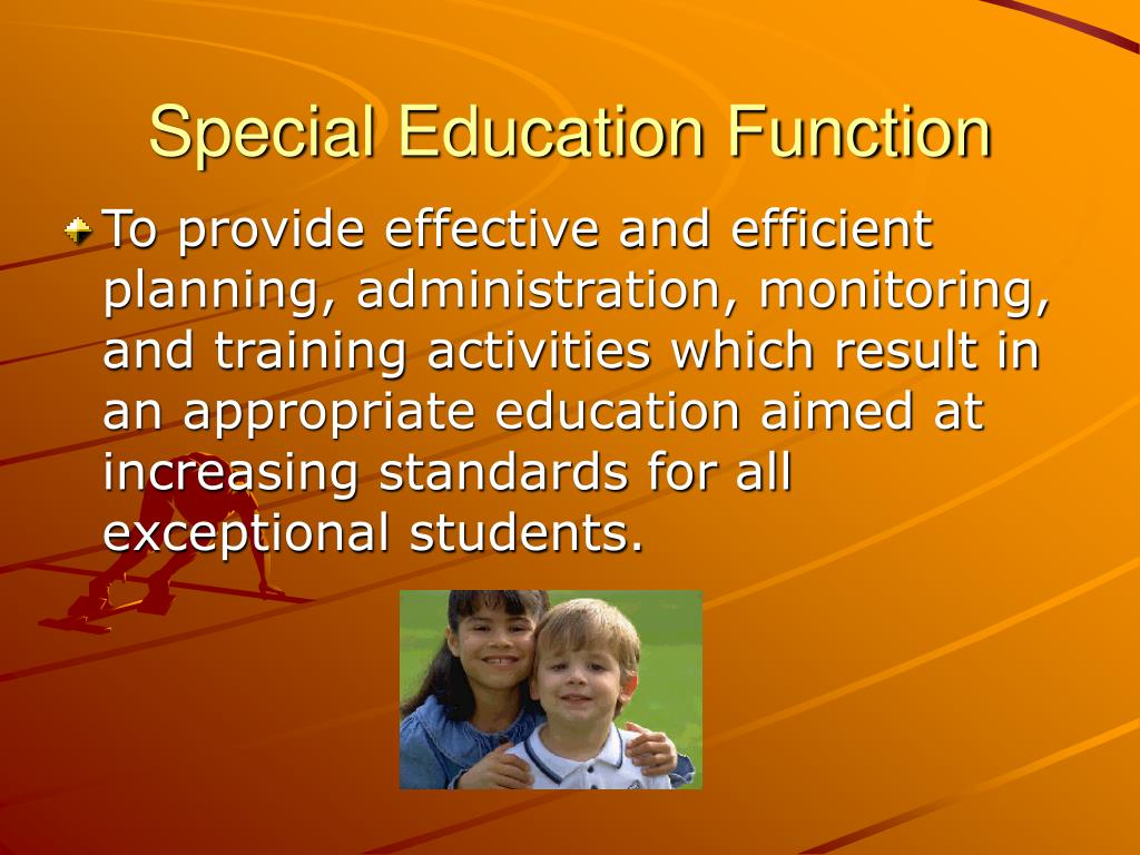Special Education Function
